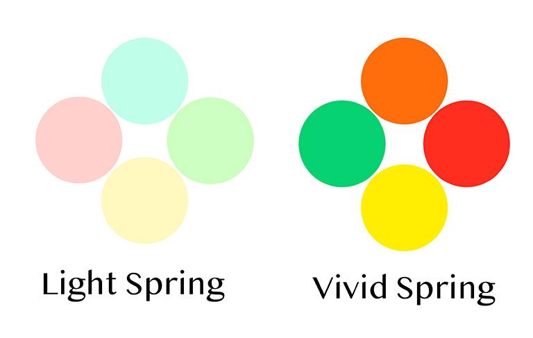 パステルピンクが似合う方にとって、目が醒める様なビビッドレッドは色が強く使いにくい